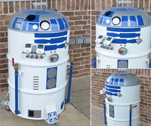 R2-D2 Barbeque Grill