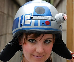 R2-D2 Bike Helmet