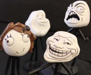 Rage Face Bobbleheads