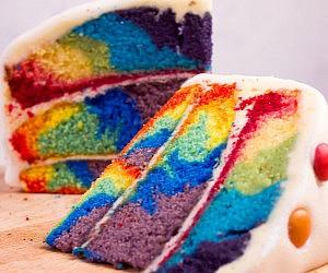 Tie-Dye Swirl Cake Mix