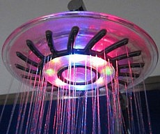 Rainbow LED Shower Head