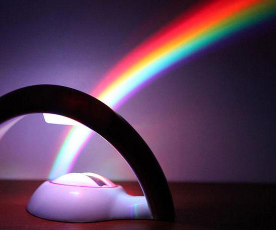 rainbow-light-projector