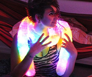 Rainbow Light Up Scarf