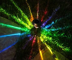 Rainbow Starburst Path Light