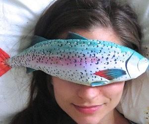 Rainbow Trout Lavender Eye Pillow