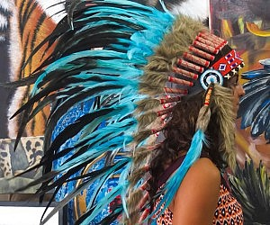 Real Feather Chief Headdress