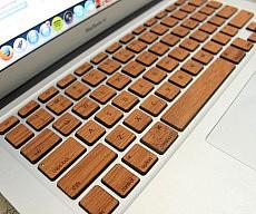 Wood MacBook Keyboard