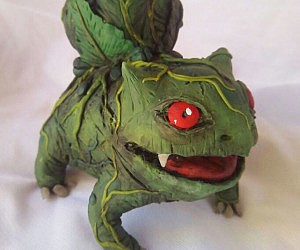 Realistic Pokemon Sculptures