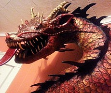 Asian Dragon Sculpture