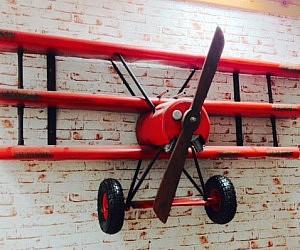 Red Baron Airplane Shelving