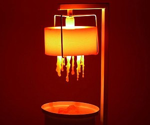 Regenerative Wax Lamp