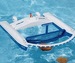 Remote Control Pool Skimmer
