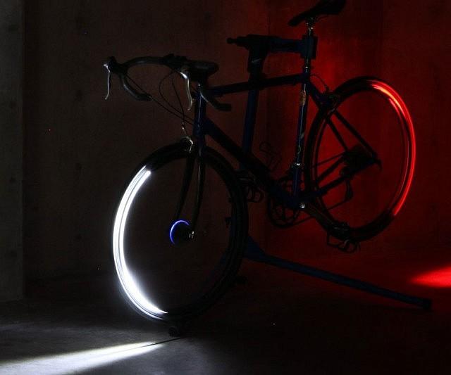 LED Bicycle Wheel System