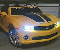 Kid's Drivable Camaro