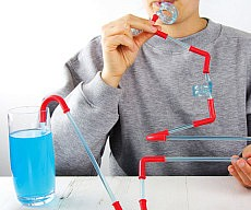 Build Your Own Roller Coaster Straws