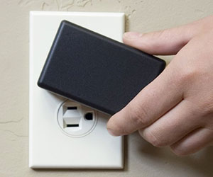 Rotating Wall Outlet