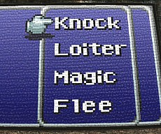 RPG Menu Doormat