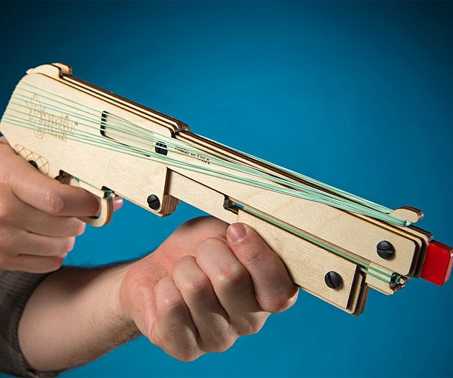 Rubber Band Shotgun