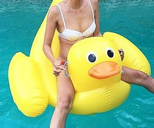 Rubber Ducky Float