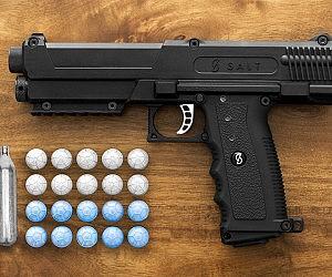 Non-Lethal Salt Firing Self Defense Gun