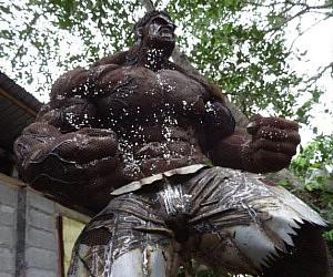 Scrap Metal Hulk Statue