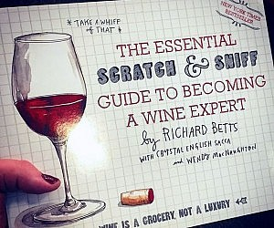 Scratch And Sniff Wine Book