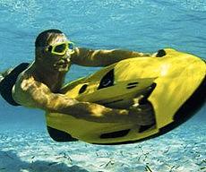 Underwater Jetski