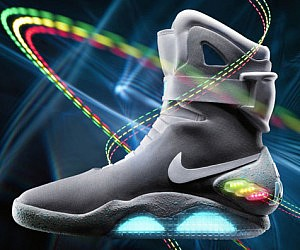 Self Lacing Back To The Future Shoes