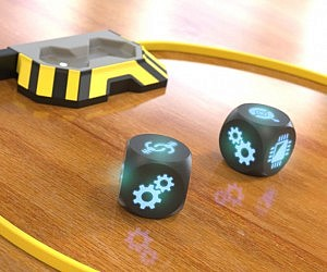 Self Rolling Sound Activated Dice