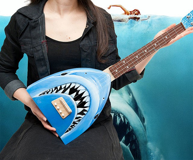 Jaws Shark Attack Ukulele