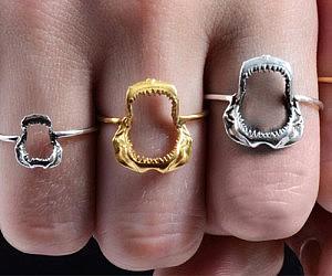 Shark Jawbone Ring