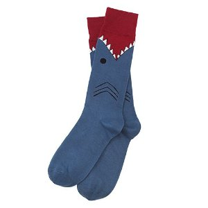 Great White Shark Socks