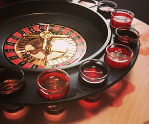 Shot Glass Roulette