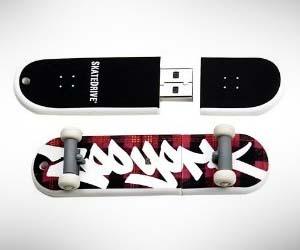 Skateboard USB Drive