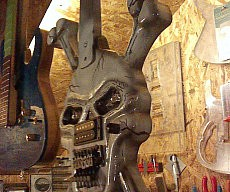 Skull And Crossbones Guitar