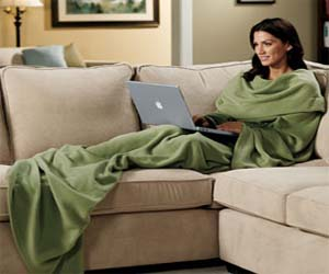 Slanket Sleeved Blanket
