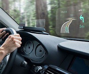 Dashboard Heads Up Display