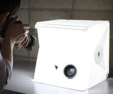 Portable Pop-Up Lightbox Studio