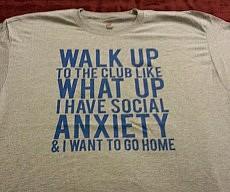 Thrift Shop Social Anxiety Shirt