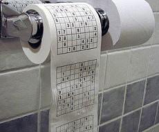 Sudoku Toilet Paper