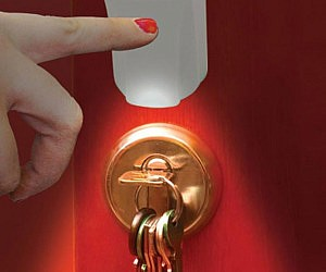 Solar Touch Keyhole Light