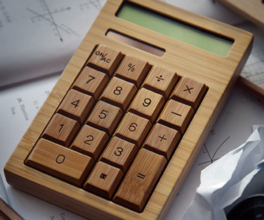 solar-powered-wood-calculator