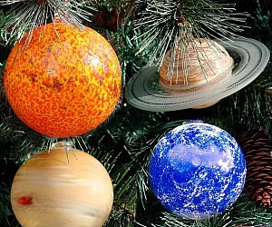 Solar System Planets Ornament Set