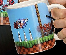 Sonic The Hedgehog Mug