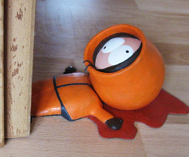 South Park Dead Kenny Doorstop