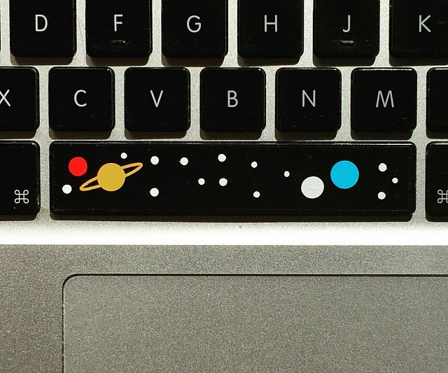 Spacebar Space Decal