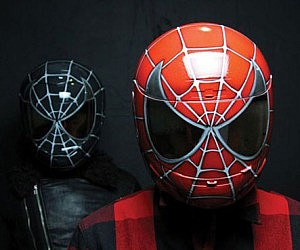 Spider-Man Motorcycle Helmet