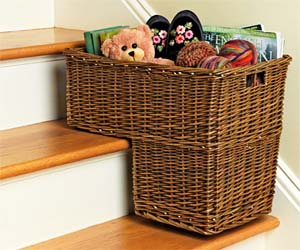 staircase-basket