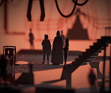 Star Wars 3D Paper Scenes