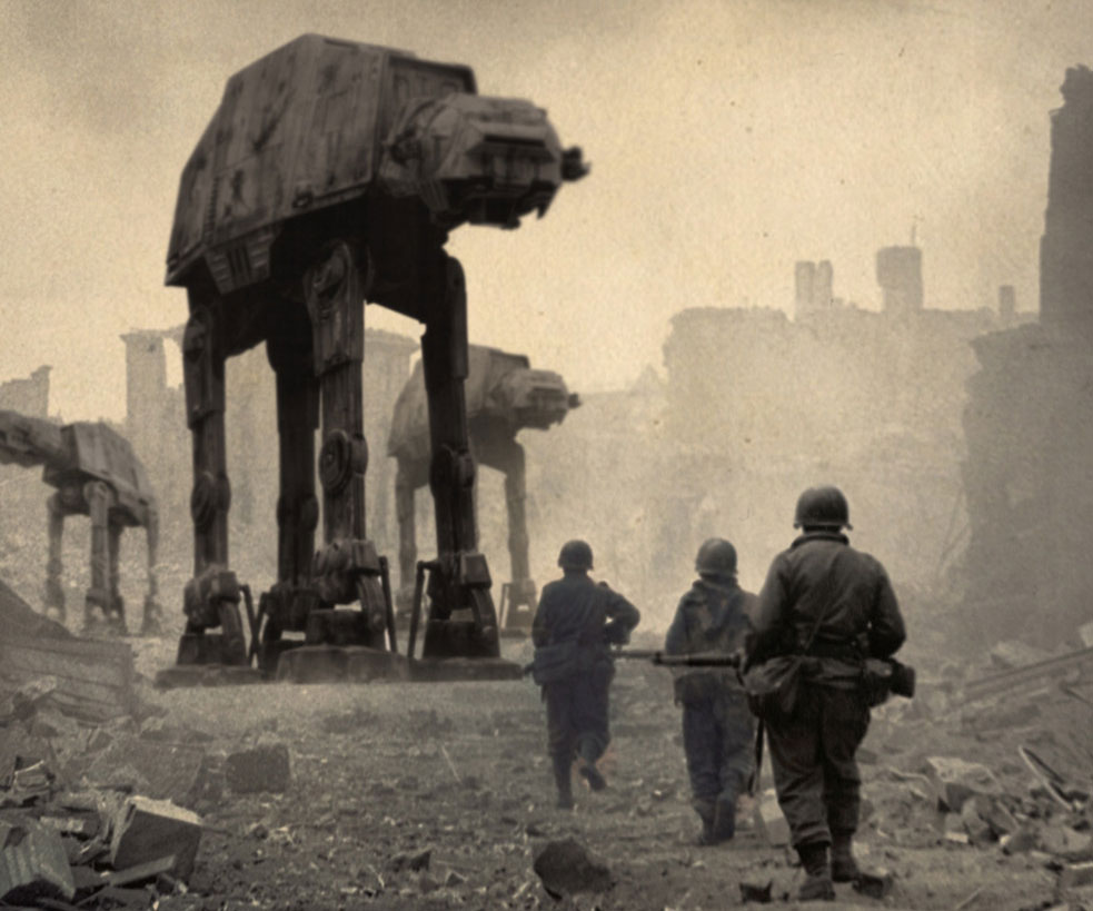 Star Wars History Prints Star Wars American History